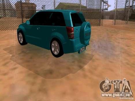 Suzuki Grand Vitara für GTA San Andreas linke Ansicht