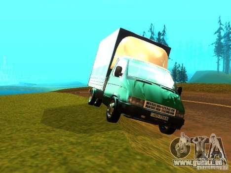 Gazelle 33021 pour GTA San Andreas vue arrière