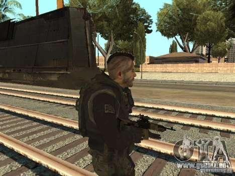 Captain MacTavish pour GTA San Andreas deuxième écran