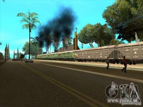 4TÈ10S-0013 pour GTA San Andreas laissé vue