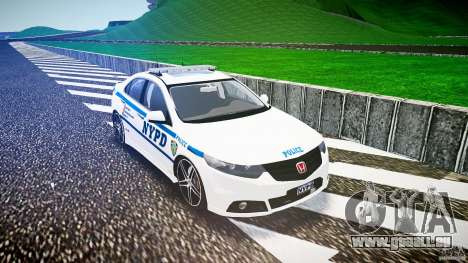 Honda Accord Type R NYPD (City Patrol 2322) ELS für GTA 4