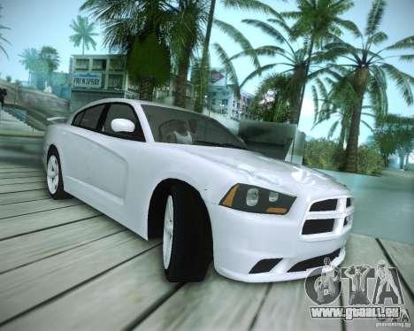 Dodge Charger 2011 v.2.0 pour GTA San Andreas vue intérieure