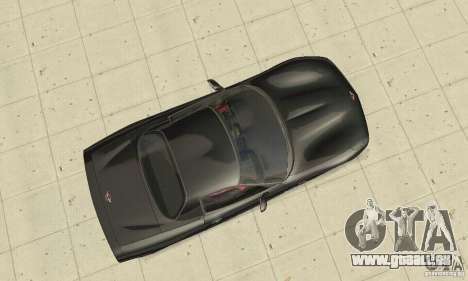 Chevrolet Corvette 5 pour GTA San Andreas vue de droite