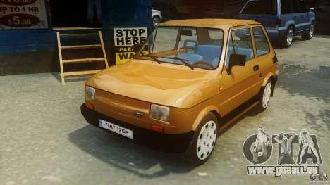 Fiat 126p FL Polski 1994 Wheels 2 für GTA 4