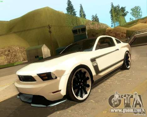 Ford Mustang Boss 302 2011 pour GTA San Andreas