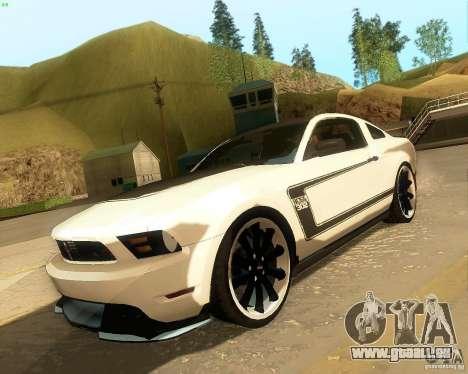 Ford Mustang Boss 302 2011 für GTA San Andreas