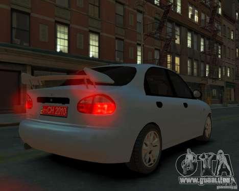 Daewoo Lanos für GTA 4 linke Ansicht