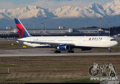 Laden Bildschirme Boeing 767 für GTA San Andreas achten Screenshot
