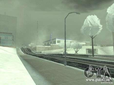 Neige v 2.0 pour GTA San Andreas