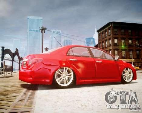 Toyota Corolla 2009 pour GTA 4 est une gauche