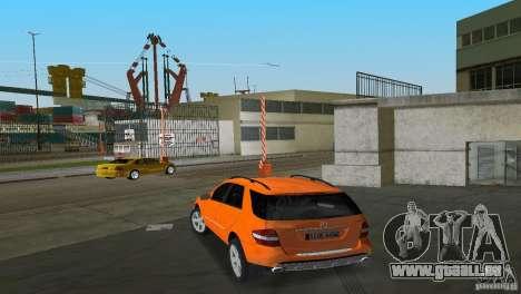 Mercedes-Benz ML 500 für GTA Vice City Seitenansicht