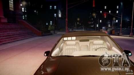Chevrolet Caprice FBI v.1.0 [ELS] pour GTA 4 vue de dessus