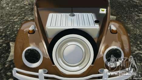 Volkswagen Fusca Gran Luxo v2.0 für GTA 4 obere Ansicht