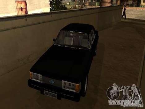 Chevrolet Opala BMT pour GTA San Andreas laissé vue