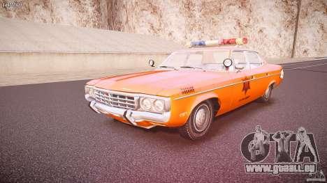 AMC Matador Hazzard County Sheriff [ELS] für GTA 4