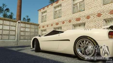 Turismo Spider für GTA 4 hinten links Ansicht