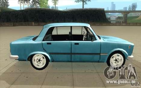 Fiat 125p pour GTA San Andreas vue intérieure