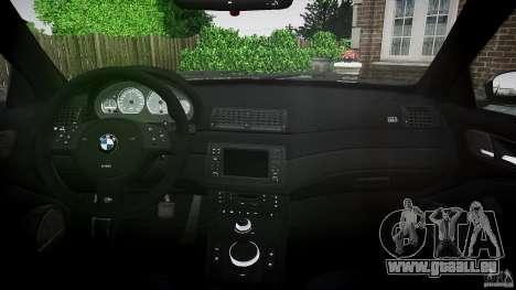 BMW M3 e46 2005 pour GTA 4 est un droit