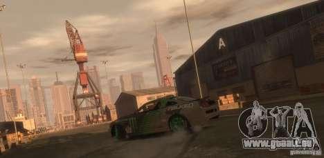 Ford Mustang Monster Energy 2012 für GTA 4 hinten links Ansicht