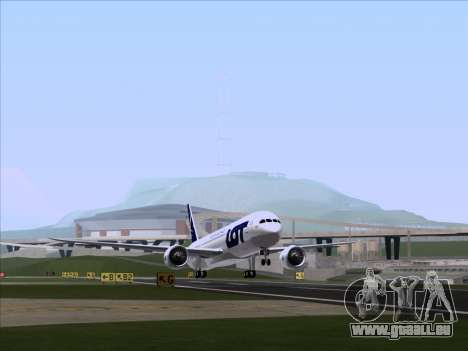 Boeing 787-9 LOT Polish Airlines für GTA San Andreas linke Ansicht