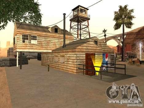 Nouvelles installations de l'aéroport dans le dé pour GTA San Andreas deuxième écran