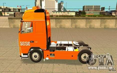 Volvo FH16 Globetrotter TNT pour GTA San Andreas laissé vue