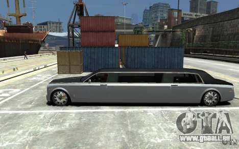 Rolls-Royce Phantom Sapphire Limousine v.1.2 für GTA 4 linke Ansicht