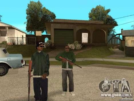 Deux scripts pour une meilleure protection pour GTA San Andreas quatrième écran