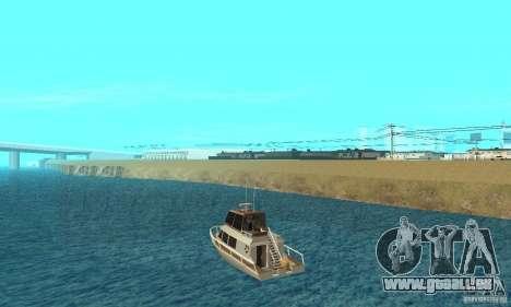 GTA VC Tropical View pour GTA San Andreas sur la vue arrière gauche