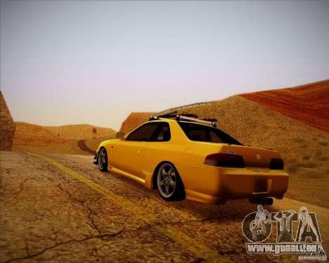 Honda Prelude Tunable für GTA San Andreas Rückansicht