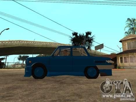 ZAZ 968 MUSIQUE EXPERT pour GTA San Andreas laissé vue