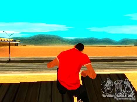 Journaliste de peau pour GTA San Andreas deuxième écran