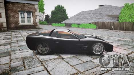 Coquette FBI car für GTA 4 linke Ansicht