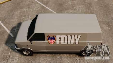 Neue coloring für van-Pony für GTA 4 rechte Ansicht