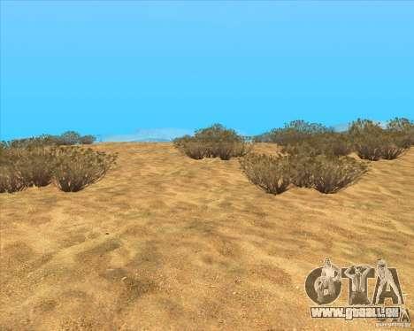 Desert HQ pour GTA San Andreas troisième écran
