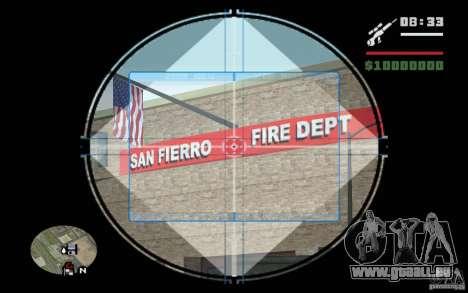 Sniper mod c. 2 pour GTA San Andreas quatrième écran