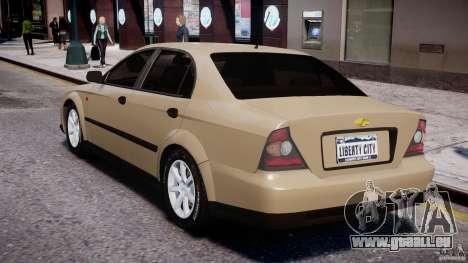 Chevrolet Evanda pour GTA 4 est un droit