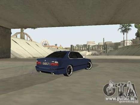 BMW M5 E34 V2.0 für GTA San Andreas zurück linke Ansicht