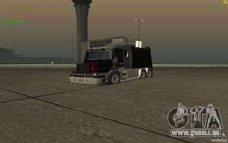 Scania T164 camion à ordures pour GTA San Andreas vue de droite