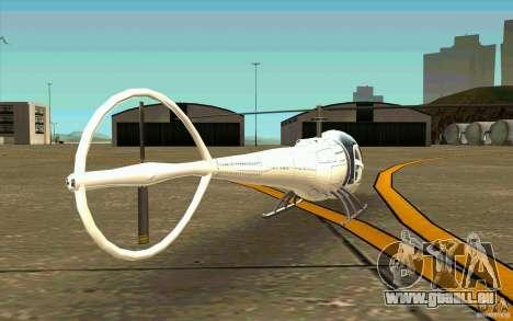 Dragonfly - Land Version für GTA San Andreas rechten Ansicht