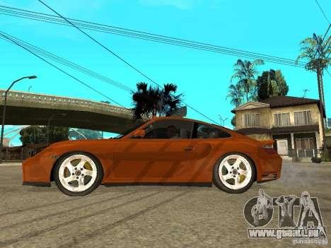 Porsche 911 Turbo S für GTA San Andreas linke Ansicht