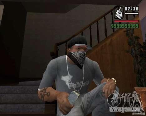 Détecteur de t. s. a. l. k. e. R # 1 pour GTA San Andreas troisième écran
