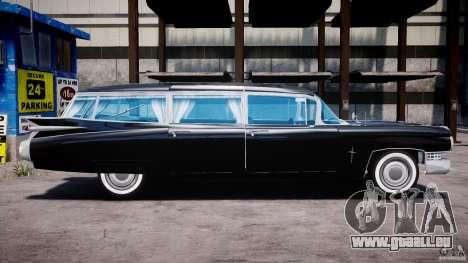 Cadillac Miller-Meteor Hearse 1959 pour GTA 4 Vue arrière