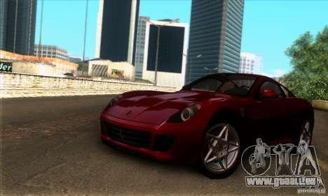 Ferrari 599 GTB Fiorano pour GTA San Andreas