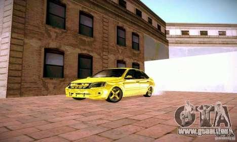 Lada Grant GOLD für GTA San Andreas Rückansicht