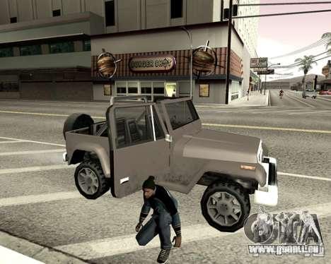 Capot du système pour GTA San Andreas