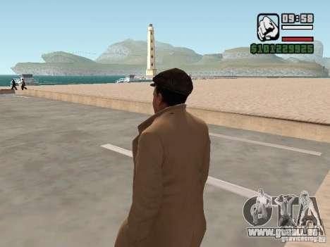 Joe Barbaro v1.0 pour GTA San Andreas deuxième écran
