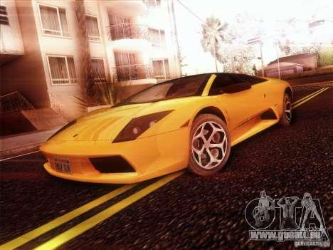 Lamborghini Murcielago Roadster pour GTA San Andreas vue de droite