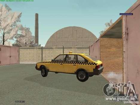2141 Moskvitch AZLK Taxi v2 pour GTA San Andreas salon