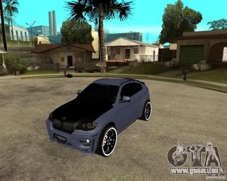 BMW X6 M HAMANN pour GTA San Andreas
